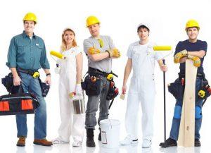 Персонал при открытии строительной фирмы
