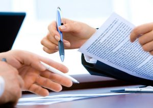 Заключение договора при оформлении ипотеки