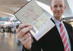 Типы визы