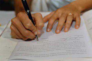Заявление в суд на развод и лишения отцовства