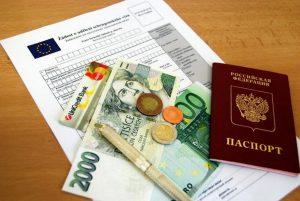 Необходимые документы для получения Шенгенской визы