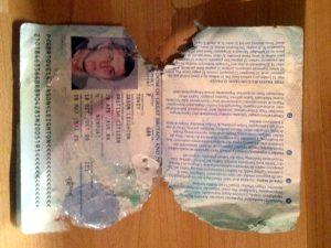 Какие документы нужны для замены паспорта испорченного