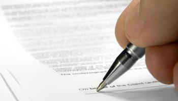 Акт выполненных работ по договору оказания услуг