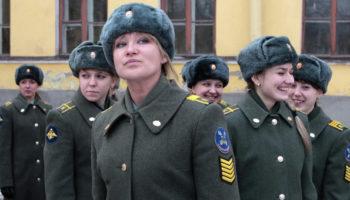 Список военных вузов для девушек