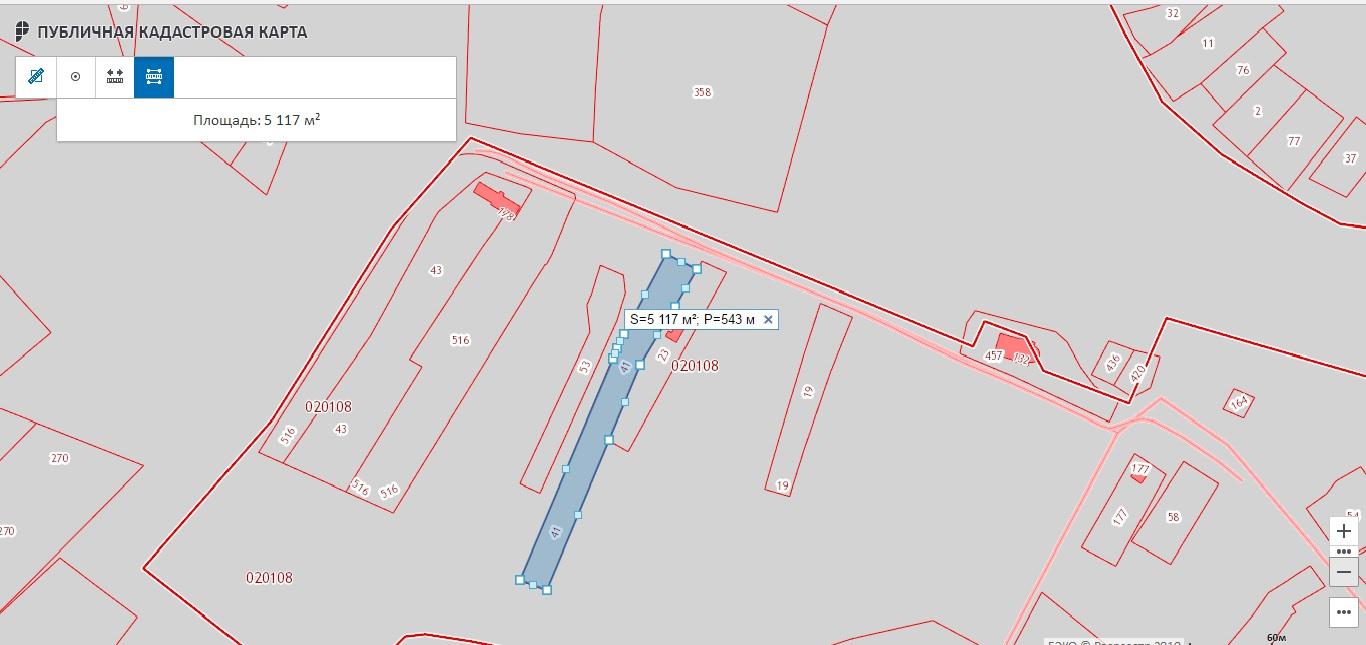 Публичная кадастровая карта Росреестр