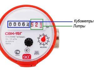 Изображение - Как правильно передавать показания счетчика за воду 3-89