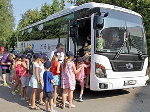 Правила организованной перевозки группы детей в автобусе
