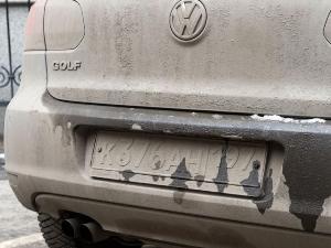 Какой штраф за грязные номера на машине
