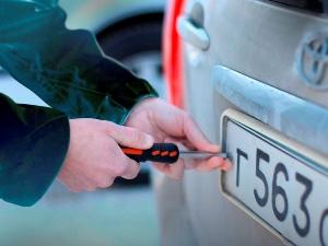 Порядок и стоимость замены госномеров на машину