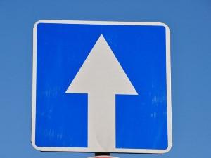 Движение задним ходом по дороге с односторонним движением