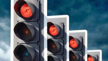 Штраф за проезд на красный свет светофора